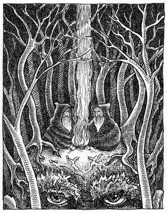 Druids on My Mind © 2003 Randy Mott