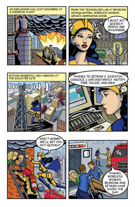 Wireless Woman Comic for Today's Wireless World Magazine  © 2007 Randy Mott